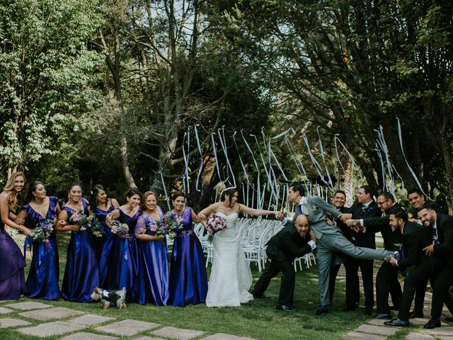 La boda de Alberto y Alejandra en Tepotzotlán, Estado México 29