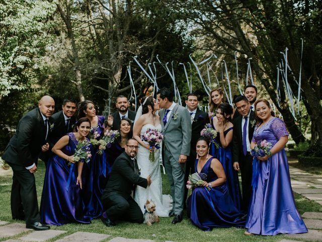 La boda de Alberto y Alejandra en Tepotzotlán, Estado México 31
