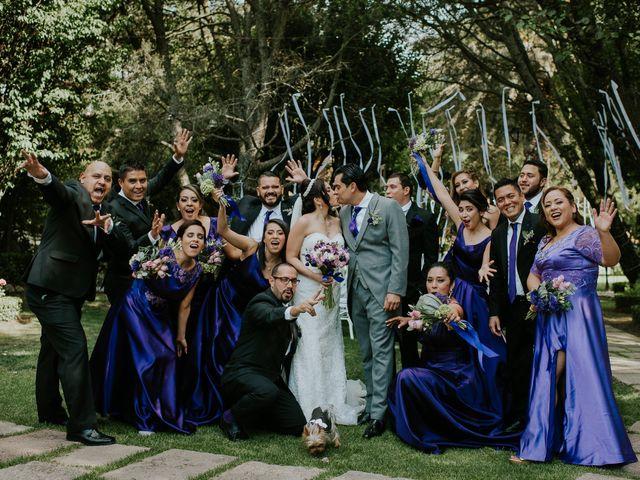 La boda de Alberto y Alejandra en Tepotzotlán, Estado México 33