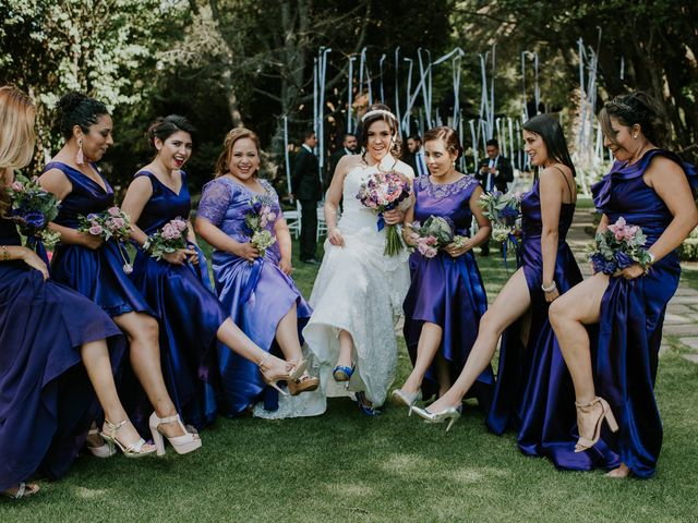 La boda de Alberto y Alejandra en Tepotzotlán, Estado México 38