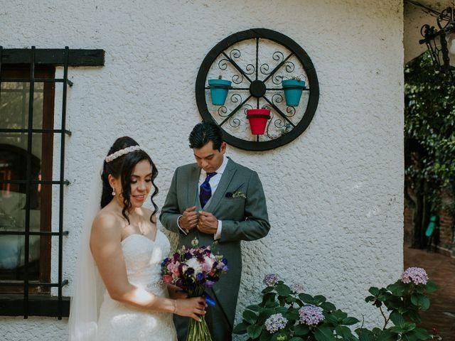 La boda de Alberto y Alejandra en Tepotzotlán, Estado México 41