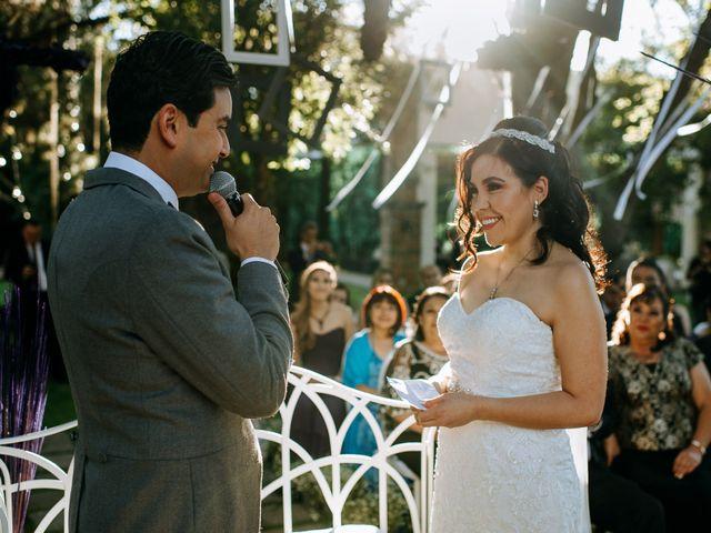 La boda de Alberto y Alejandra en Tepotzotlán, Estado México 54