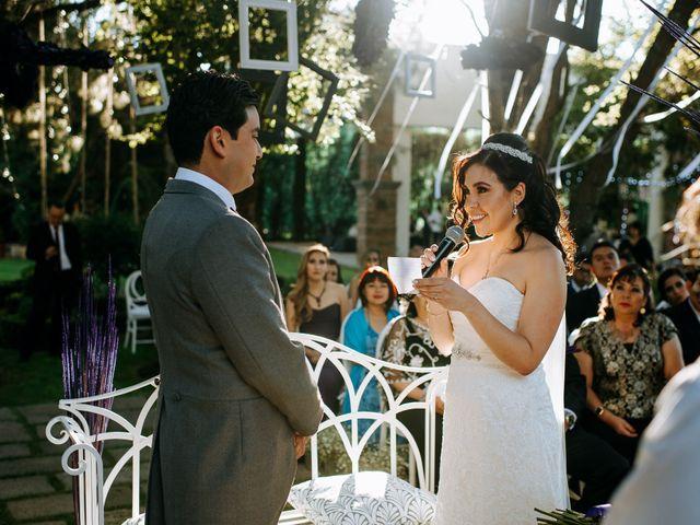 La boda de Alberto y Alejandra en Tepotzotlán, Estado México 56