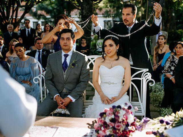 La boda de Alberto y Alejandra en Tepotzotlán, Estado México 60