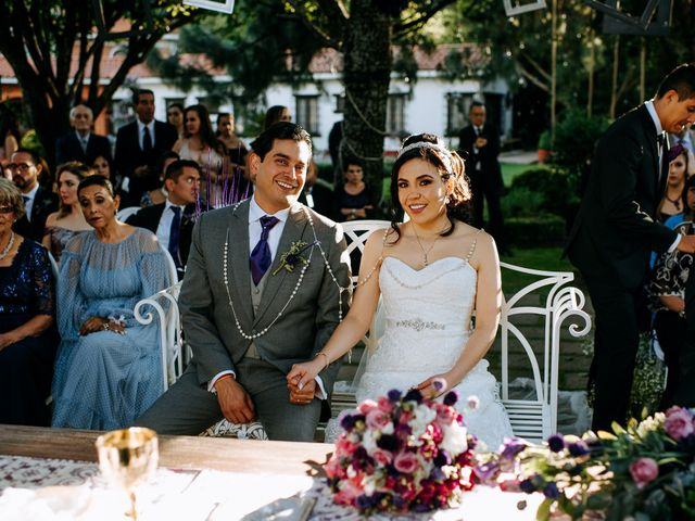 La boda de Alberto y Alejandra en Tepotzotlán, Estado México 61