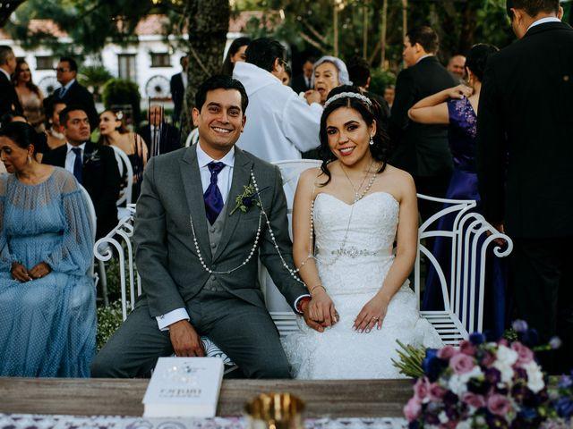 La boda de Alberto y Alejandra en Tepotzotlán, Estado México 62