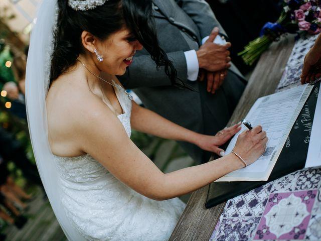 La boda de Alberto y Alejandra en Tepotzotlán, Estado México 64