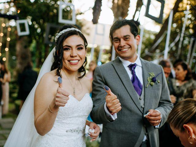 La boda de Alberto y Alejandra en Tepotzotlán, Estado México 66