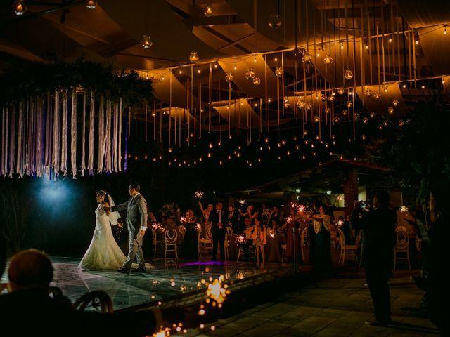 La boda de Alberto y Alejandra en Tepotzotlán, Estado México 74