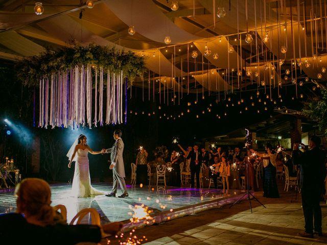 La boda de Alberto y Alejandra en Tepotzotlán, Estado México 75
