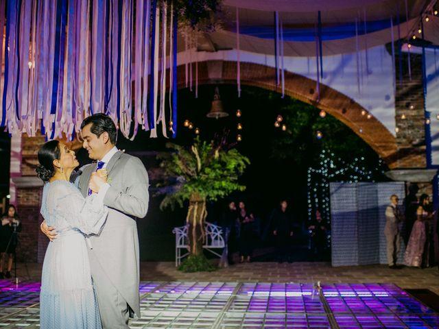 La boda de Alberto y Alejandra en Tepotzotlán, Estado México 79