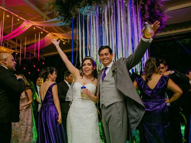 La boda de Alberto y Alejandra en Tepotzotlán, Estado México 89