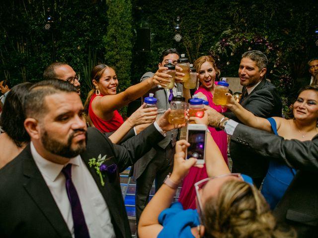 La boda de Alberto y Alejandra en Tepotzotlán, Estado México 94