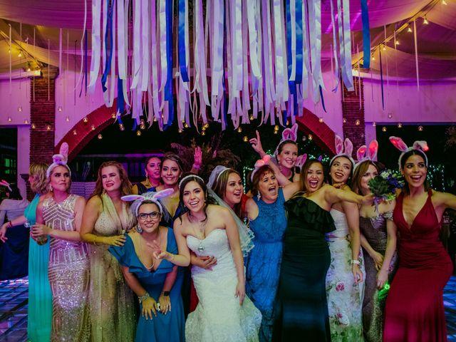 La boda de Alberto y Alejandra en Tepotzotlán, Estado México 105