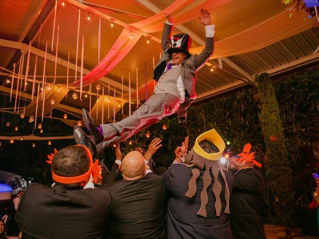 La boda de Alberto y Alejandra en Tepotzotlán, Estado México 107