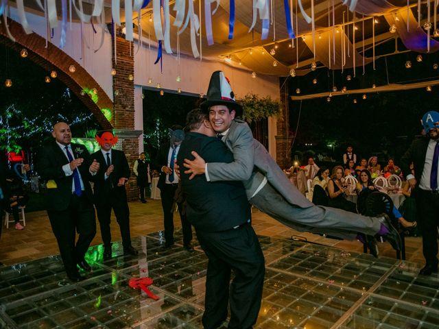 La boda de Alberto y Alejandra en Tepotzotlán, Estado México 108