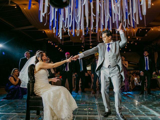 La boda de Alberto y Alejandra en Tepotzotlán, Estado México 110