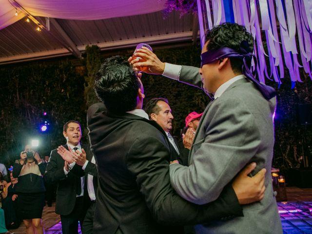 La boda de Alberto y Alejandra en Tepotzotlán, Estado México 113