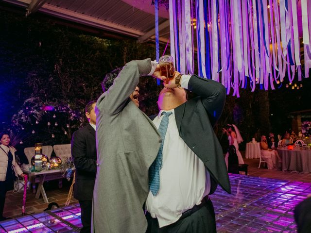 La boda de Alberto y Alejandra en Tepotzotlán, Estado México 114