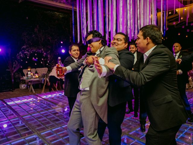 La boda de Alberto y Alejandra en Tepotzotlán, Estado México 115