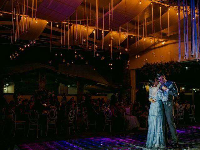 La boda de Alberto y Alejandra en Tepotzotlán, Estado México 122