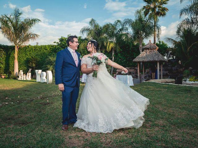 La boda de Yvonne y Damián