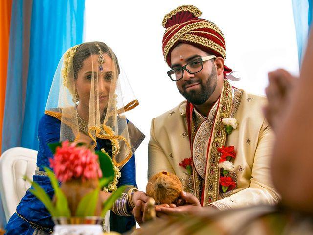 La boda de Vian y Ajanth