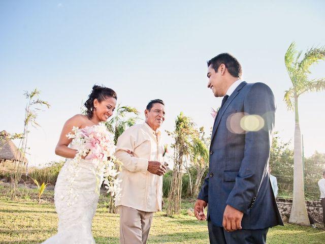 La boda de Ismael y Julia