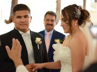 La boda de María Carolina  y Ever  2