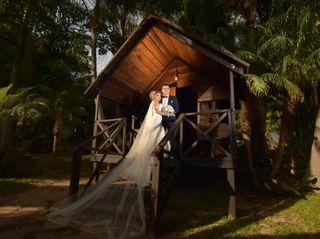 La boda de Claudia y Óscar