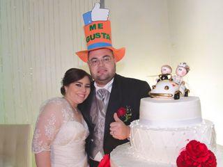La boda de Abril y Carlos