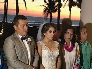 La boda de Melanie  y Carlos  1