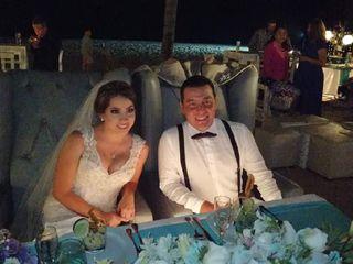La boda de Melanie  y Carlos