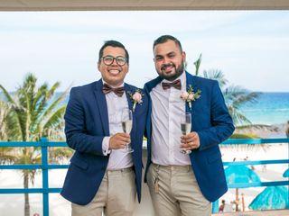 La boda de Roberto y Jonhatan