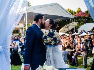La boda de Paul y Irma
