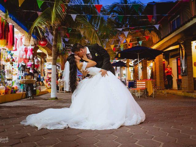 La boda de Angeles  y Alan Marco
