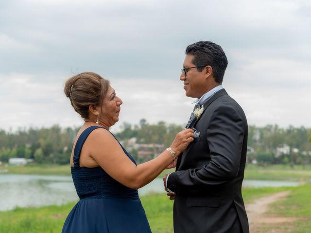 La boda de Felipe y Rocío en Cuautitlán Izcalli, Estado México 14