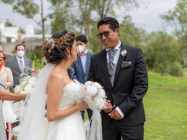 La boda de Felipe y Rocío en Cuautitlán Izcalli, Estado México 25
