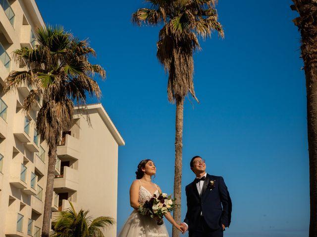 La boda de Kim y Ale