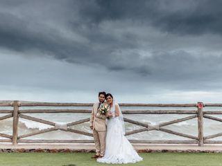 La boda de Katherine  y Manuel