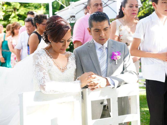 La boda de Elizabeth y Jorge