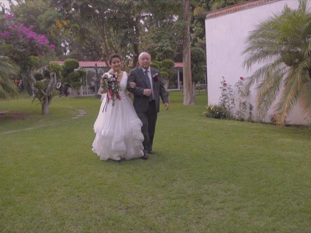 La boda de Gerza y Laura en Atlixco, Puebla 15