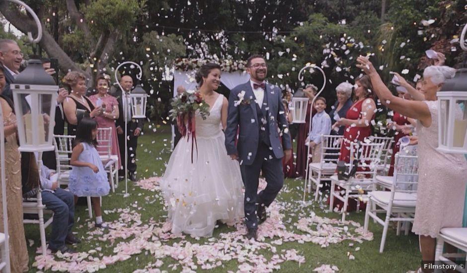 La boda de Gerza y Laura en Atlixco, Puebla
