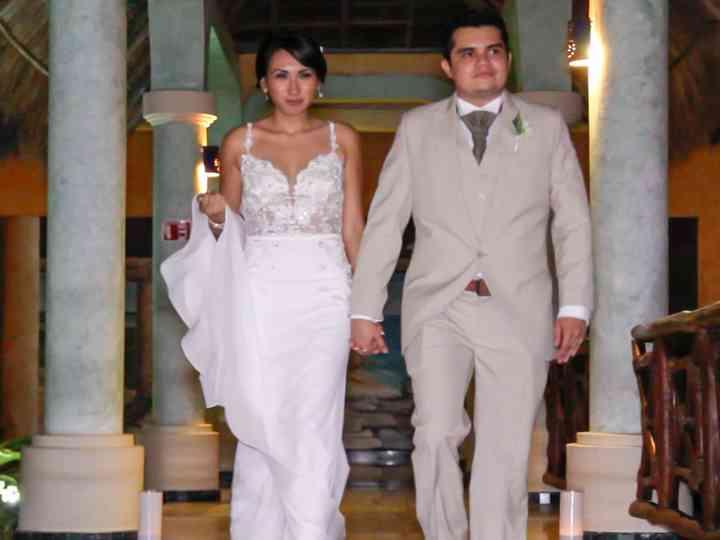 La boda de Lizbeth y Abraham