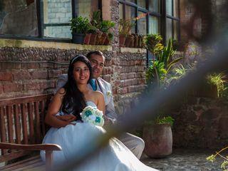 La boda de Lucy y Oscarín