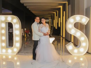 La boda de Sayani y David