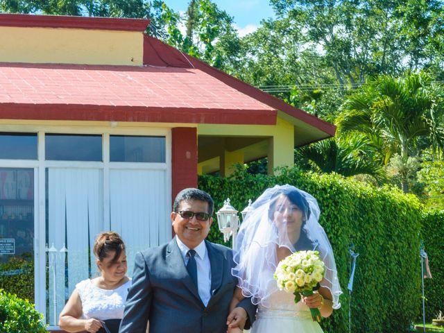 La boda de Oscarín y Lucy en Berriozábal, Chiapas 13