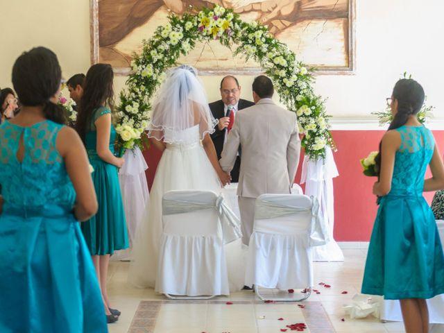 La boda de Oscarín y Lucy en Berriozábal, Chiapas 14