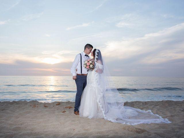 La boda de Karen Stephania  y César