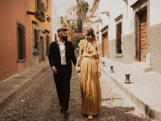 La boda de Hussain y Emma en San Miguel de Allende, Guanajuato 16